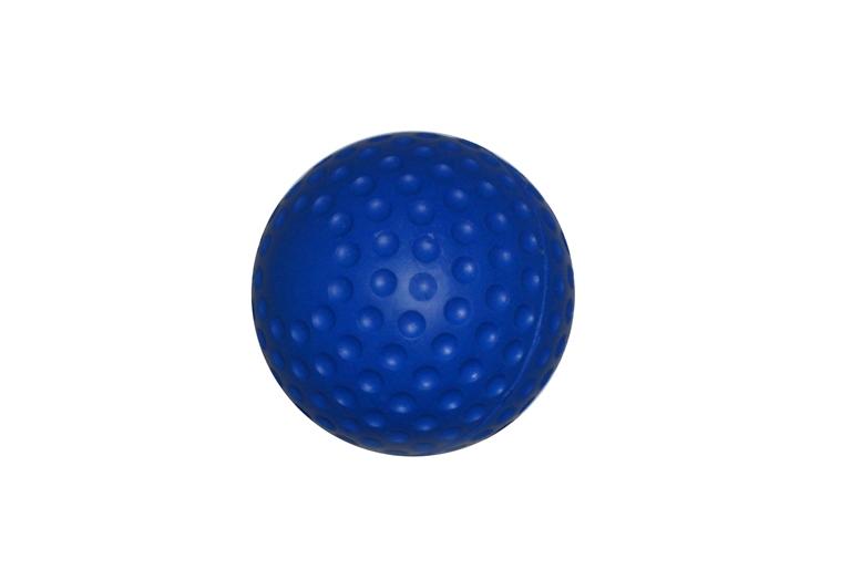 Soft PU-Ball Ø7.5 cm, blau