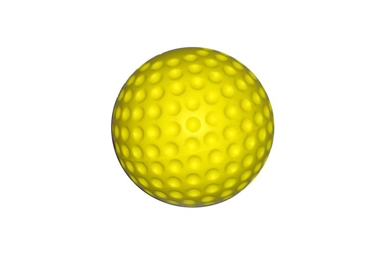 Soft PU-Ball Ø10 cm, gelb