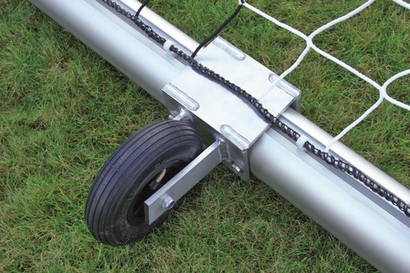 Transportrolle für Fussballtor