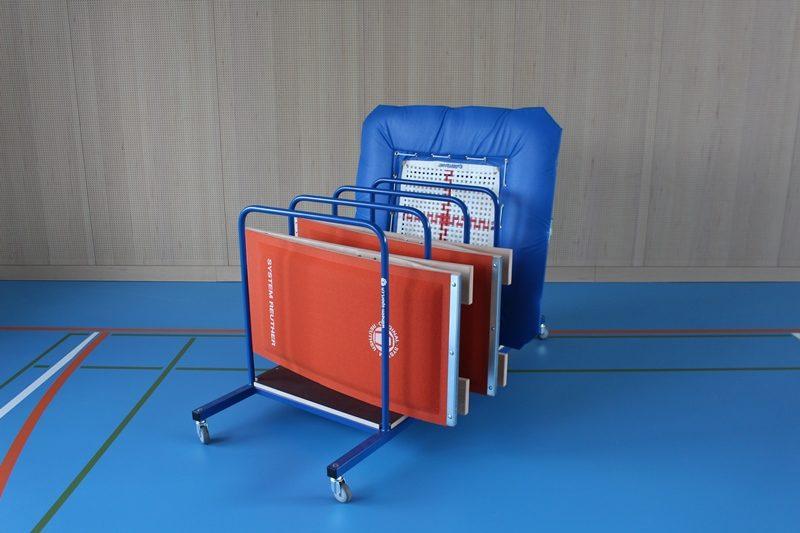 Transportwagen für 4 Sprungbretter oder Minitramp