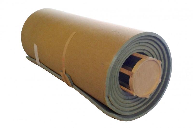 Bodenturnmatte 12 m x 2 m x 35 mm, gelb
