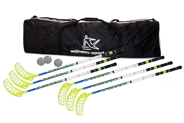Unihockey-Set Wooloc X-Plus 2.9