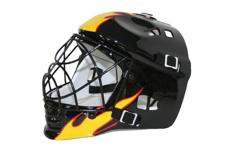 Torhütermaske Unihockey «Flame»