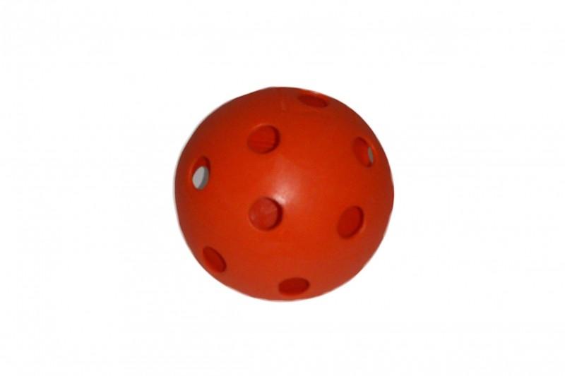 Unihockey-Ball, orange