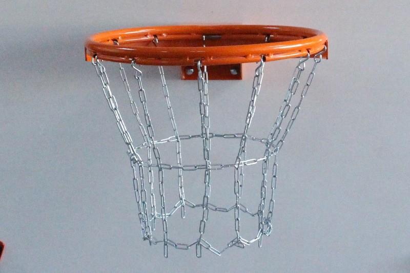 Basketball-Kettennetz 12-Punkt, galvanisch verzinkt